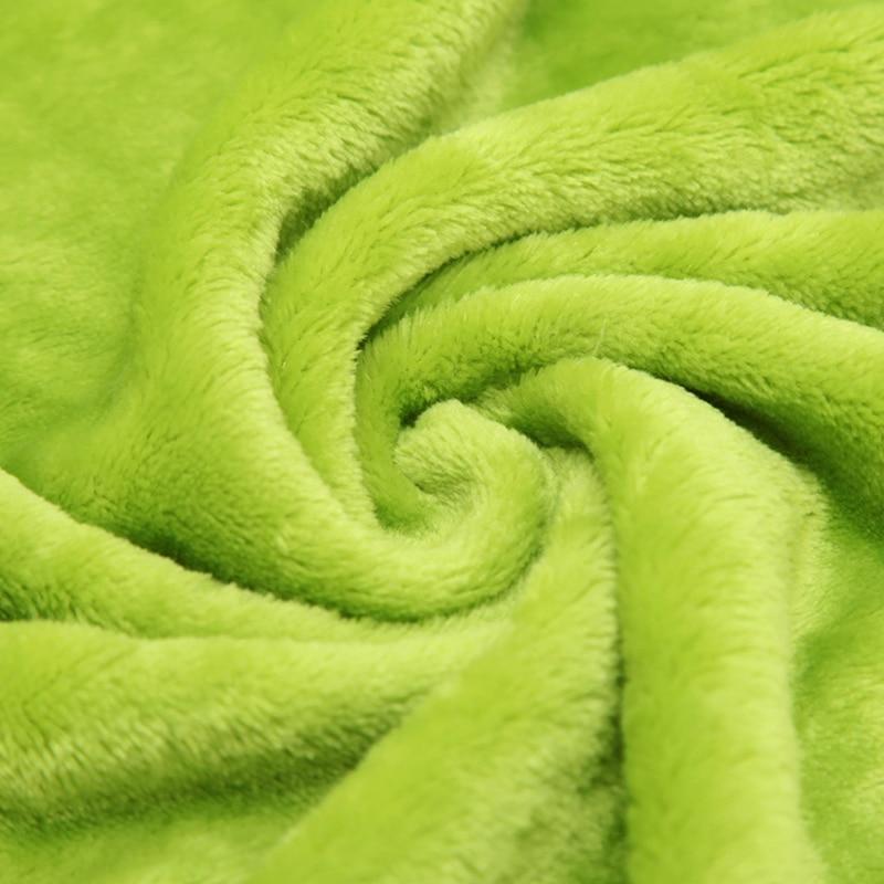 Ζεστό πωλούν Flannel Coral Fleece Κουβέρτα - Αρχική υφάσματα - Φωτογραφία 2