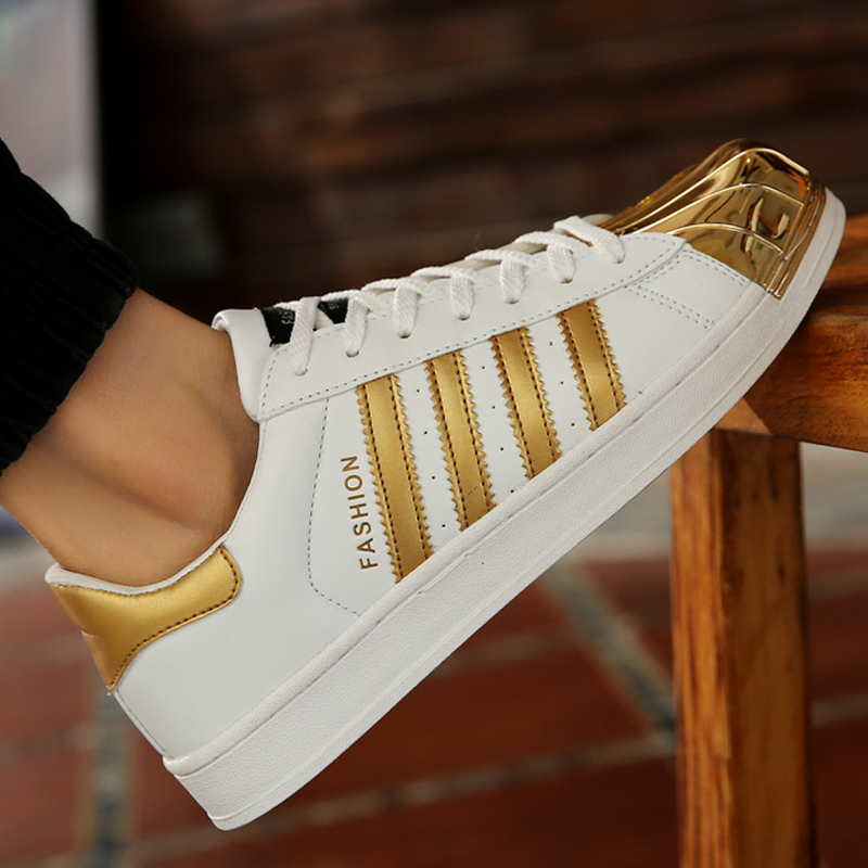 Popular Gold Tennis Shoes for Women-Buy Cheap Gold Tennis ...