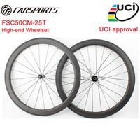 High end Carbon fiber wheels 50mm road bike wheelset 25mm width ,DT 350s , DT 240s , CK R45 , T11 , Extralite , Tune hubs
