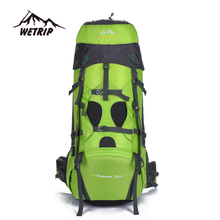 75L Outdoor Camping Hiking backpack professional Climbing Bags mountaineering bag vlsivery large capacity travel sports backpack