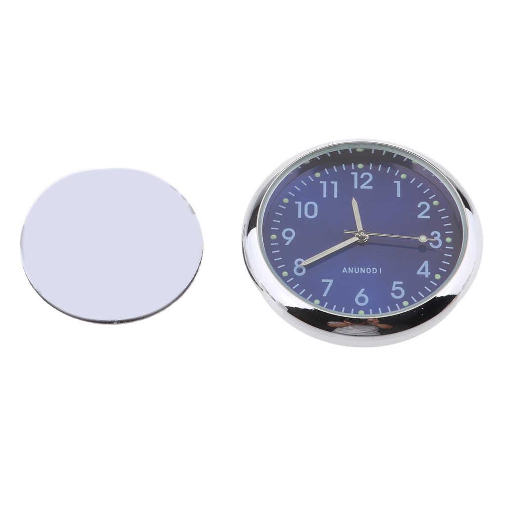 Универсальный Мотоцикл Часы автомобильные часы светящиеся Мини автомобили внутренние часы палка-на кронштейн для мотоцикла часы костюм для всех моторов