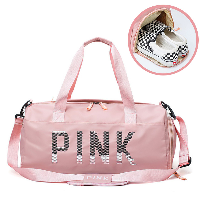 Waterproof Women Sports Bag Women Fitness Yoga Sports Bag For Storage Shoe Travel Bag Sports Shoulder Bag Sports Bag Sports Bag
