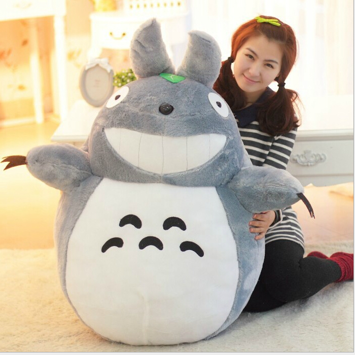 Hot  23 60cm Selling Item Totoro Cartoon Movies Plush Toys Smiling High Quality Brinquedos Dolls Factory Price Free Shipping 2016 hot selling 22cm the first sofia princess dolls toys sophia clover cartoo toys rabbit plush doll