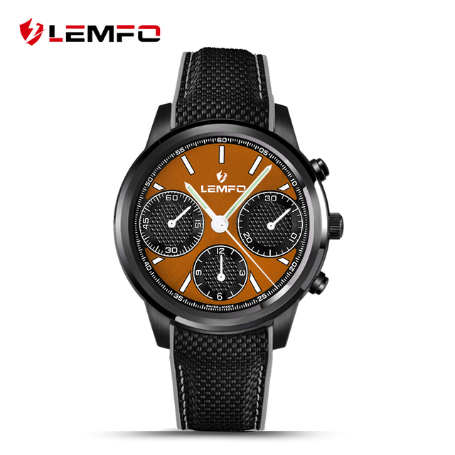 LEMFO LEM5 Android 5.1 Смарт Смотреть MTK6580 1 ГБ/8 ГБ Smartwatch Телефон