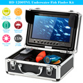 "KKmoon 1200TVL Underwater Fish Finder Kit 9"" LCD Monitor Underwater Ice Video Fishing Camera System 15m Cable Visual Fish Finder"