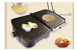 Sandwich Machine Electric Cake Fried Egg Panini heating Childrens food  Breakfast machine Roast Beef Chop Barbecue