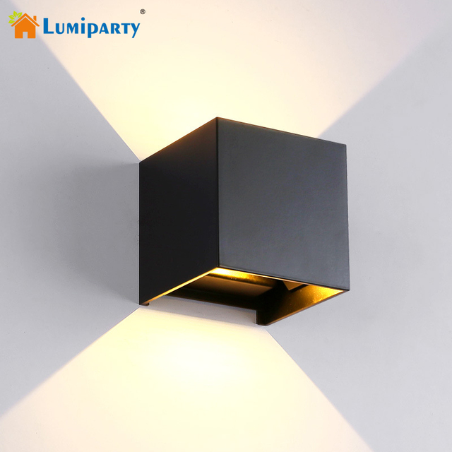 Lumiparty Wall Sconces 6w Wall Light Led Outdoor Wall Sconce Night