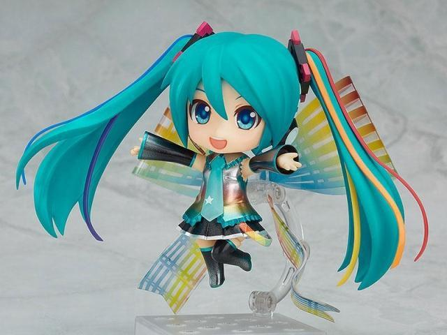 Anime Hatsune Miku Nendoroid Miku 831# Tenth Anniversary commemorate ver. PVC action figure collection model toy