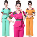 (5 get 10% off)Thai restaurant waiter health service beautician foot SPA cosmetology clothing beauty salon work clothes uniform