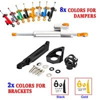 NICECNC StabilizerLinear Stabilizer Steering Damper Mounting Bracket Support Kit For Honda CBR600RR CBR 600RR 2005 2006