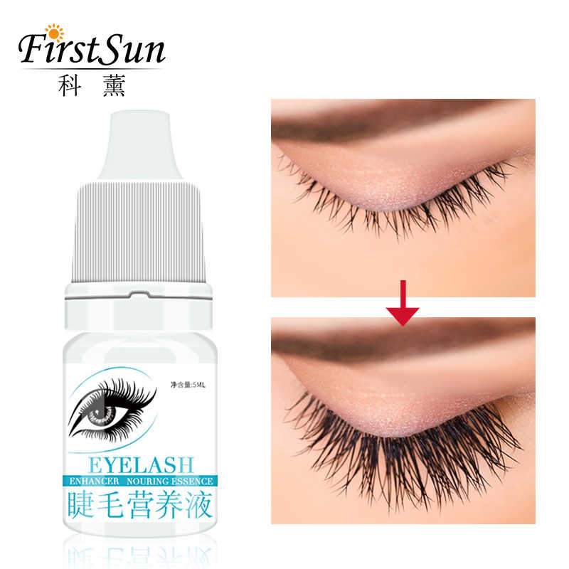 34b4becf604 Firstsun Nature Eyelash Growth Serum 7 Day Eyelash Enhancer Longer Fuller  Thicker Lashes Eyelashes&Eyebrows Enhancer Eye