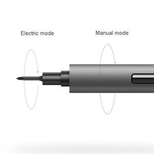 Image 4 - Original Youpin Wowstick 1f + Home essentiel électrique tournevis lumière LED en Aluminium corps téléphone bricolage réparation outils de bureau jouet