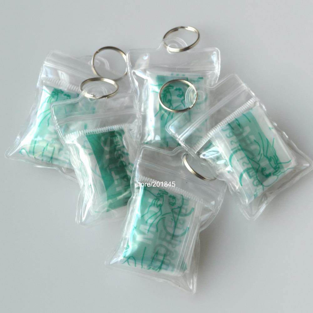550Pcs/Pack CPR Mask CPR Face Shield With Keychain First Aid Rescue Kit Transparent Pouch Wrapped With CE/FDA Certification 200pcs pack cpr mask with latex gloves rescue face shield keychain one way valve disposable first aid resuscutator save cprmask