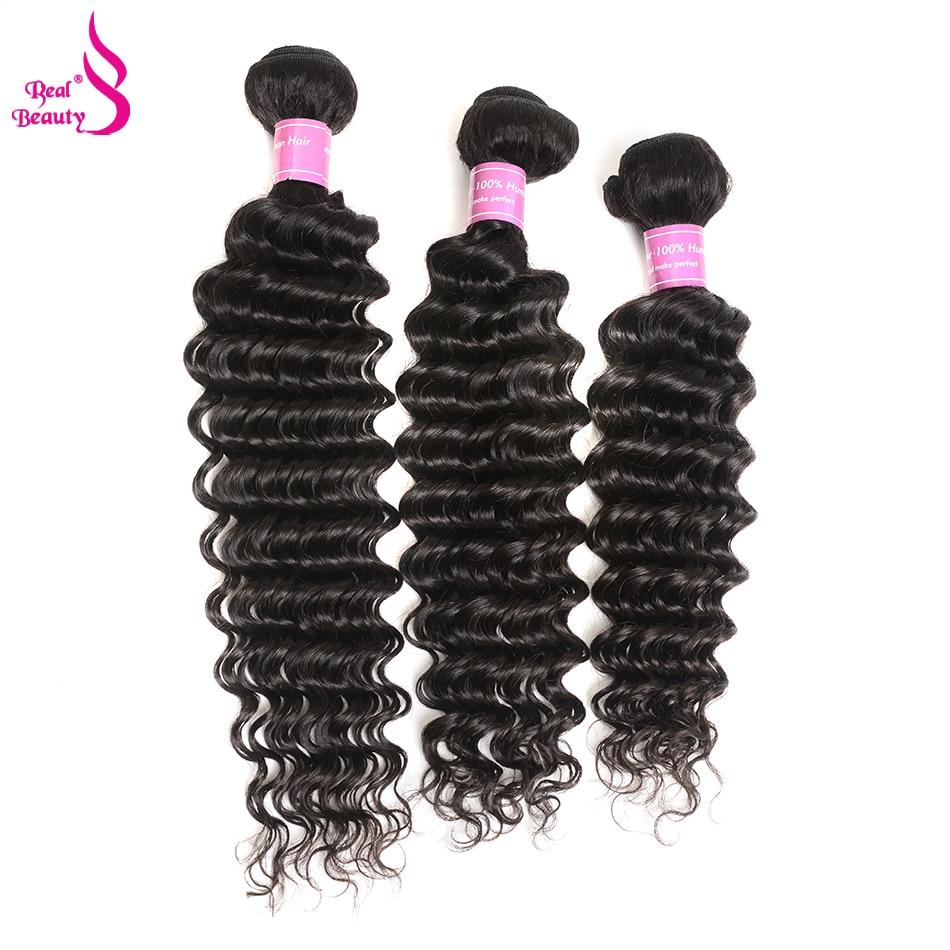 Realbeauty 8 30inch Malaysian Deep Wave 100 Remy Human Hair