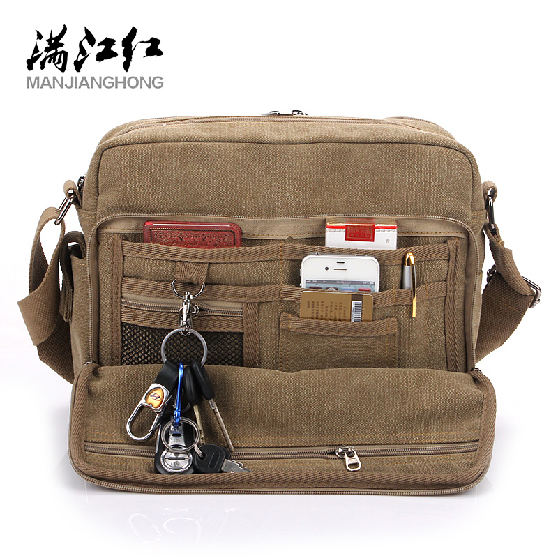 Multifunction Canvas Men Bags For Teenager Fashion Male Mochila Leisure Shoulder Bags High Quality Men Travel Bags 8 Color Bags