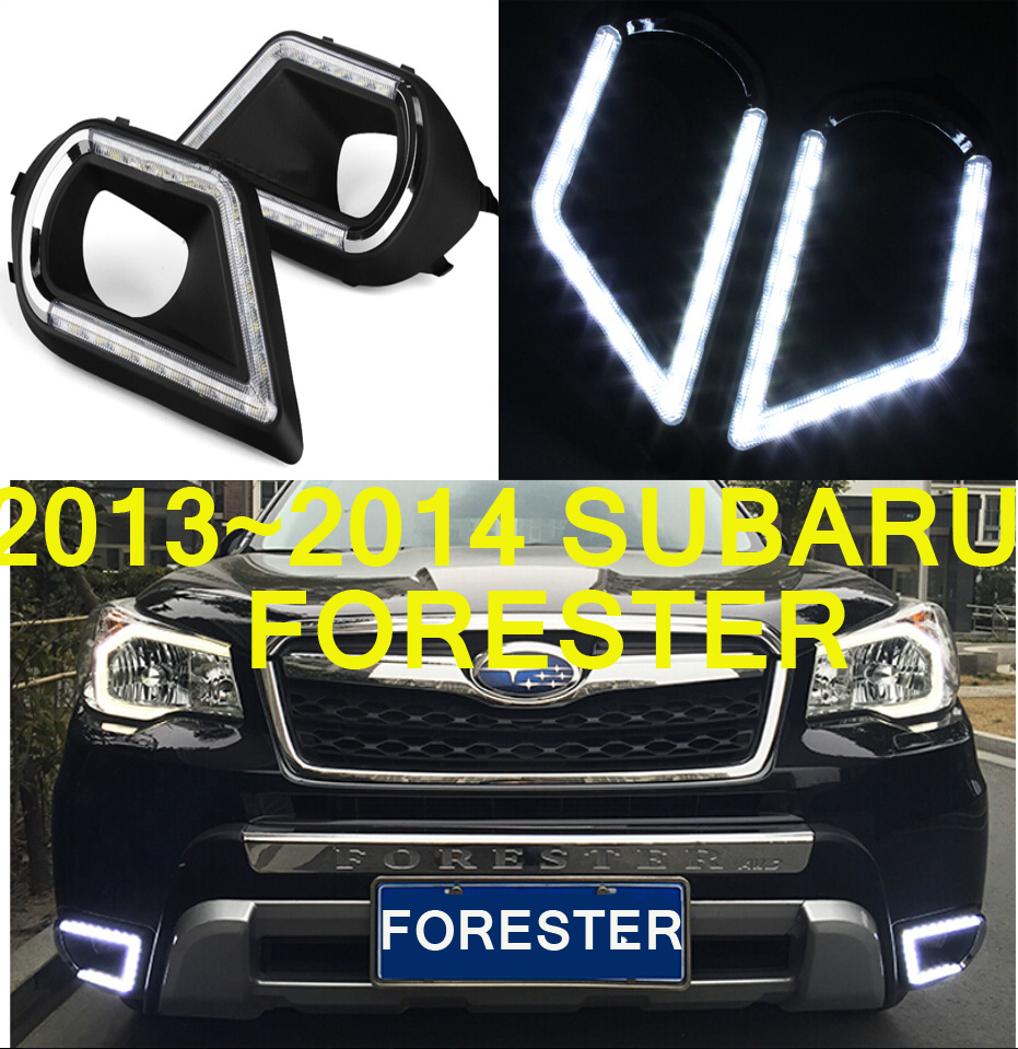 LED, 2013 ~ 2016 Forester Luce diurna, Forester fendinebbia, Forester faro, Tribeca baja, brz, impreza, justy, Forester fanale posteriore