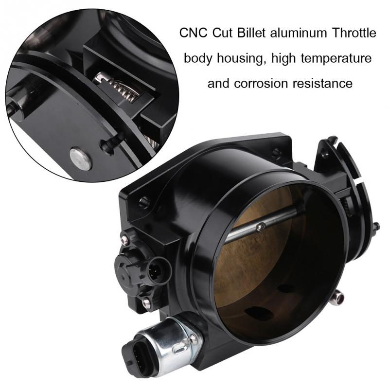 92mm 3 61 inch Throttle Body with TPS IAC Throttle Position Sensor Idle Air Control for