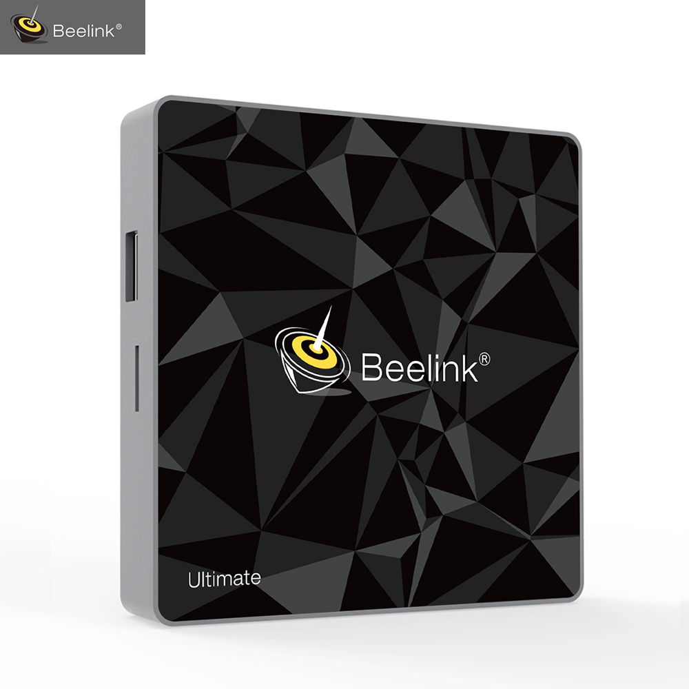 Genuine Beelink GT1 Ultimate TV Box Android 7.1 Amlogic S912 Octa Core DDR4 Smart TV Box BT 4.0 5G WIFI Android tv TV Box scishion v99 android 6 0 amlogic s912 tv box rii i8 white