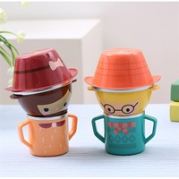 Cartoon Child Plate Tableware Dishware Dinnerware Set Infant Food Bowl Cup Feeding Dinner Fork Spoon for Children Kids Bowl
