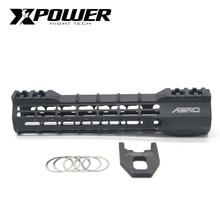 """XPOWER Rail System 9 """"12"""" Handguard для Keymod AR15 AEG M4A1 Airsoft Air Guns Пейнтбол Gel Blaster"""