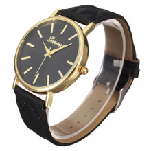 2016 Fashion Womens Watches Ladies Watch Belt Diagonal Checkered Plaid Tartan Table Watch Quartz Watch Women Gift WholeSale