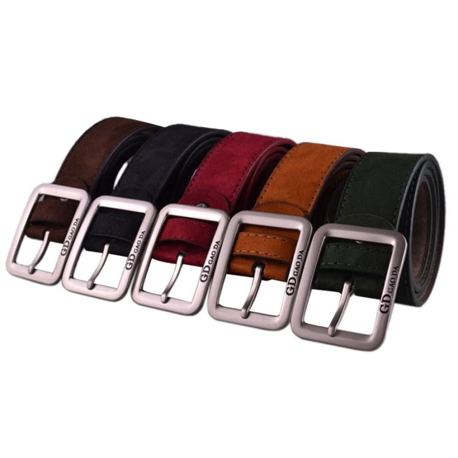 CHAMSGEND Brand Christmas Gift Mens Casual Waistband Leather Automatic Buckle Belt Waist ...