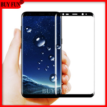 For Samsung galaxy s7 glas Screen Protector Tempered Glass For Samsung Galaxy S7 edge Glas S8 plus S 8 Case Film Full Cover 3 D(China)