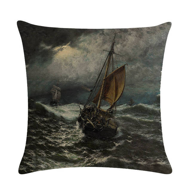 Old Fashioned Ship Cushion Covers  1