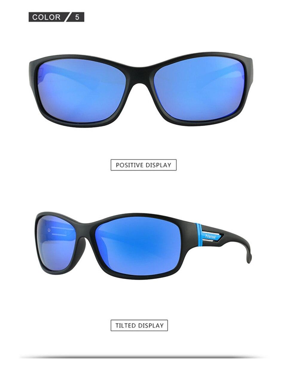RILIXES 2018 Fashion Guy\'s Sun Glasses From Kdeam Polarized Sunglasses Men Classic Design All-Fit Mirror Sunglass (11)