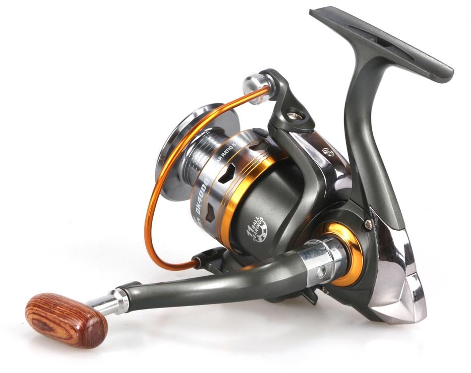 Carretel de pesca carretel de fiação carretilhas