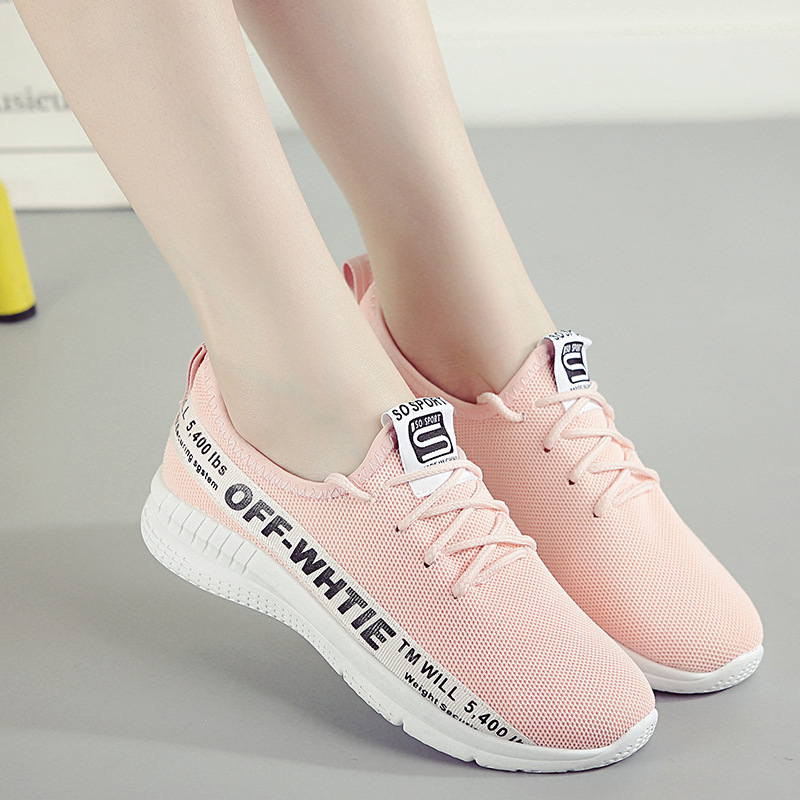 2018 Fashion Korean Women Platform Sneakers Pink Lace Up Casual Shoes Breathable Mesh Sneakers Ladies Shoes Tenis Feminino casual shoes woman sneakers 2018 new spring fashion with breathable mesh women shoes tenis feminino light lace up shoes ladies