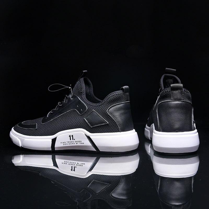 Mesh Mycoron Souple Marque Nouvelle Arrivée Fond Chaussures Tissu Noir De Mâle D'été Casual Lumière Confortable Respirant Air Luxe Mode eCxBod
