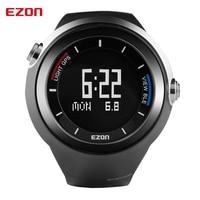 Ezon шагомер GPS высотомер термометр smart bluetooth спортивные часы Водонепроницаемый 50 м цифровые часы Бег часы для IOS Android
