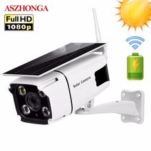 Zonne energie IP Camera 1080P HD Wireless WIFI Surveillance Security Camera Outdoor Waterdichte IR Nachtzicht Buiten Solar Cam