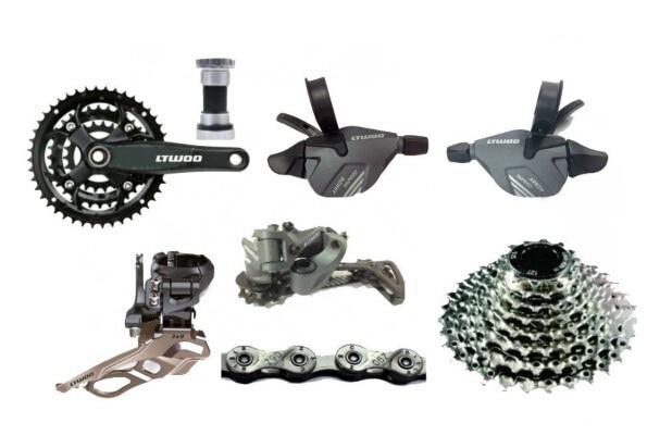 все цены на  Bike Groupset  9-speed 27 -speed  mtb group set Upgrade Mountain Bike  Group SET 7psc  онлайн
