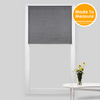 SCHRLING Roller Blinds For Windows Contemp system With 28mm aluminum tube top front cover Sunscreen Soil Fabirc Customized Size