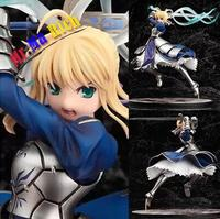 New 25cm Japanese Anime Fate Stay Night Saber Lily Doll The Sword Of Victory Action Figures Collectible Model Toy