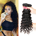 8A Peruvian Loose Deep Wave 3 Bundles Queen Hair Products Peruvian More Wave Remy Human Hair Hot Peruvian Loose Deep Curly Hair