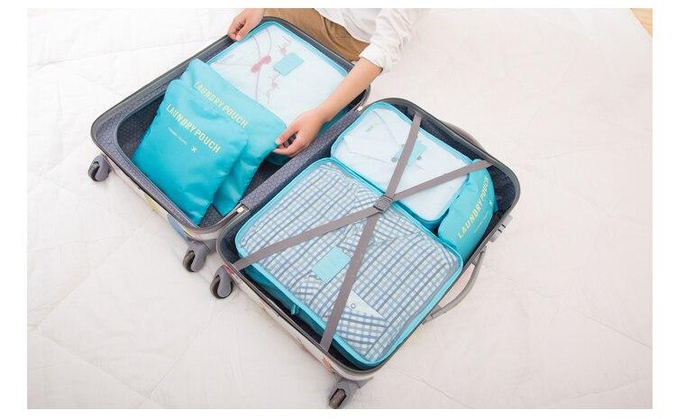 Nylon Waterproof Cube Packing 14