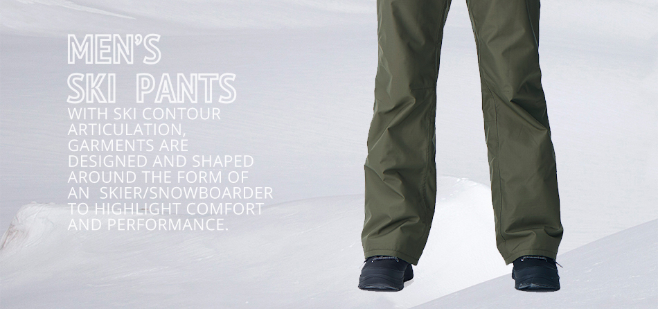 7e1d364ffe5 RUNNING RIVER Brand Men Winter Pants With Shoulder Straps 5 Colors 6 Sizes  Snow Pants For Snowboard For Man Sports Pants #B7089-in Skiing Pants from  ...