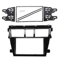 Car Stereo Fascia Dash Panel 2 Din Frame Trim For Toyota Vios Yaris Sedan Belta