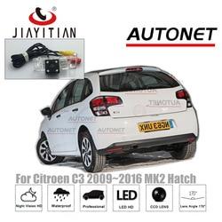 Tylna kamera JIAYITIAN dla Citroen C3 2009 ~ 2016 MK2 hatchbacK CCD Night Vision kamera cofania licencja kamera na tablicę rejestracyjną kamera cofania w Kamery pojazdowe od Samochody i motocykle na