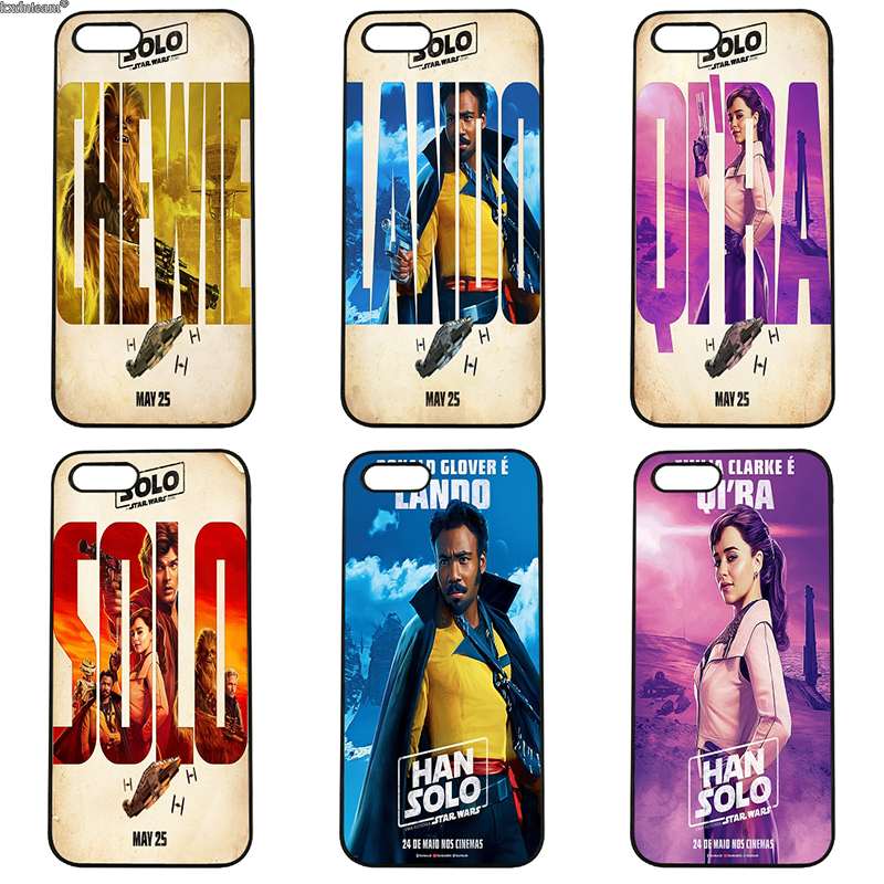Solo A Star Wars Story Cell Phone Cases Hard PC Plastic Cover for iphone 8 7 6 6S Plus X 5S 5C 5 SE 4 4S iPod Touch 4 5 6 Shell