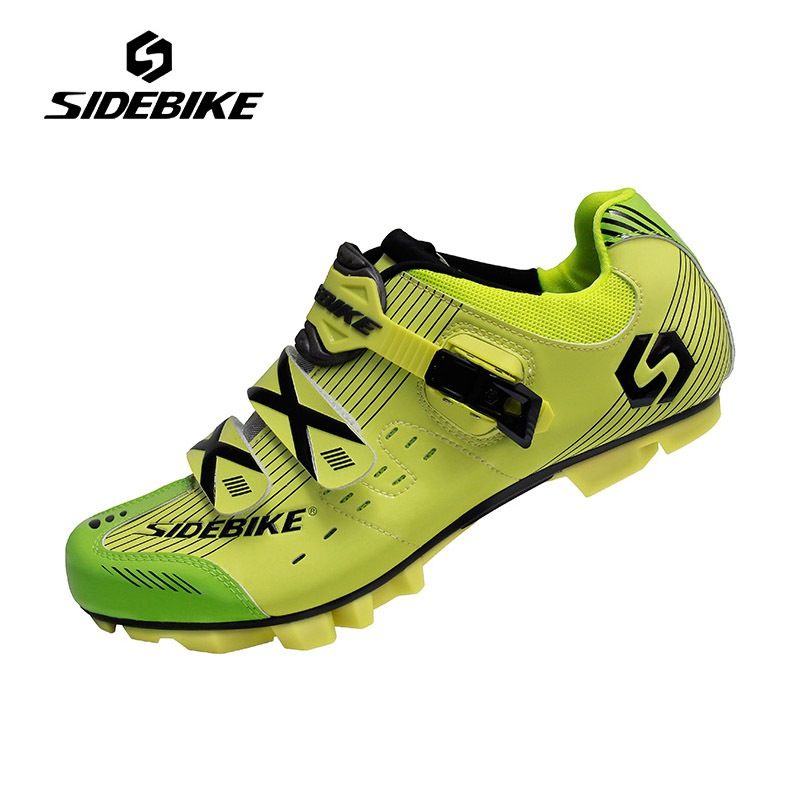 Sidebike Mountain Bike Shoes Mens Breathable Cycling Shoes Auto-lock Bike Bicycle Shoes High Quality MTB Zapatos de ciclismo mountain bike four perlin disc hubs 32 holes high quality lightweight flexible rotation bicycle hubs bzh002