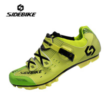 Sidebike Mountain Bike Shoes Mens Breathable Cycling Shoes Auto-lock Bike Bicycle Shoes High Quality MTB Zapatos de ciclismo