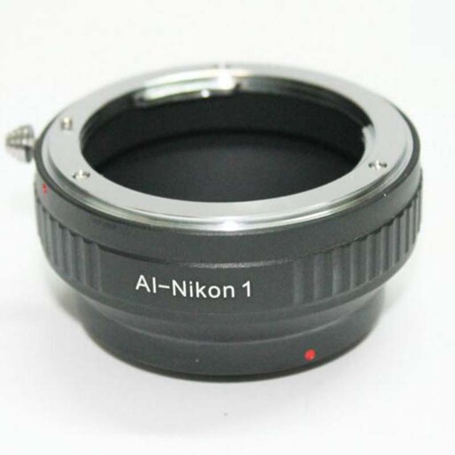 AI N1 Camera lens adapter ring for nikon AI,F AI S mount lens adapter to for nikon 1 camera s1 J1 J2 J3 J5 V1 V2 V3 AW1