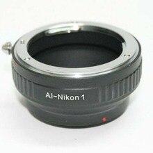 AI N1 kamera lens adaptörü halkası nikon AI, F AI S montaj lens adaptörü için nikon 1 kamera s1 J1 J2 J3 J5 V1 V2 V3 AW1