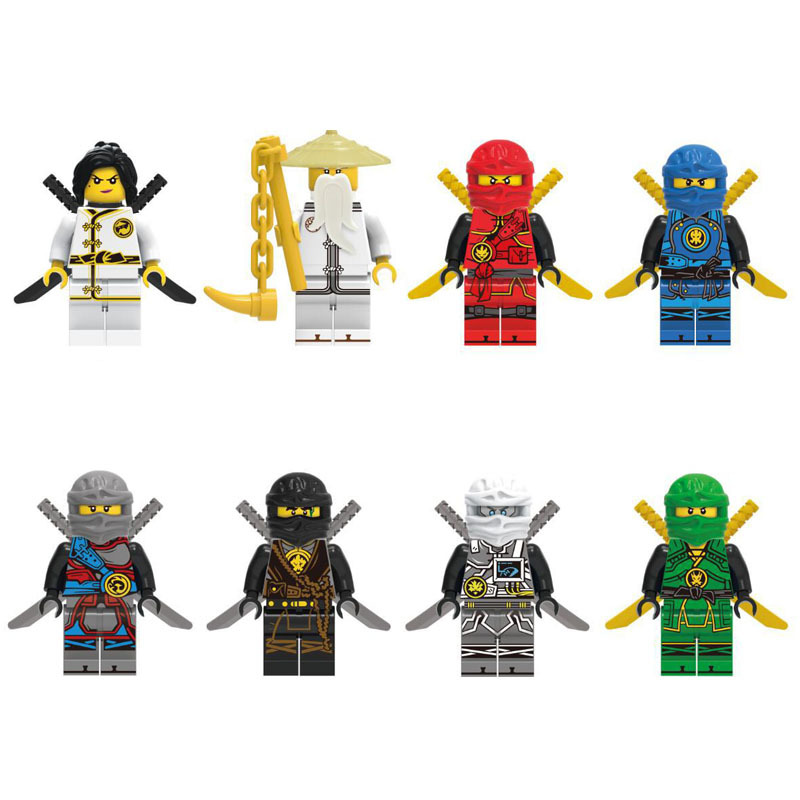ninjago lego figures 2018 moive set dragon Lloyd  (2)
