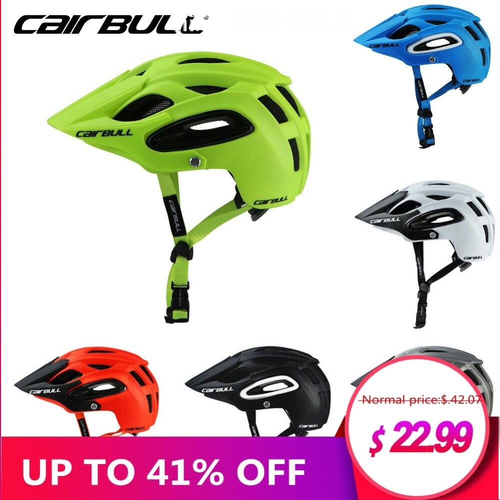 CAIRBULL ALLTRACK casco de bicicleta-terrai MTB CyclingSports Safet casco OFF-ROAD Super montaña casco de bicicleta ciclismo equipo