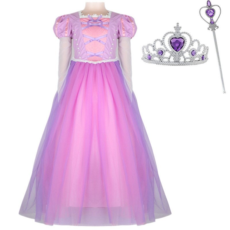 Girl Cinderella Tullle Princess Dress for Girls Pearl Pink Bow Ball Gown  Baby Flower Girl Fancy e07338165018